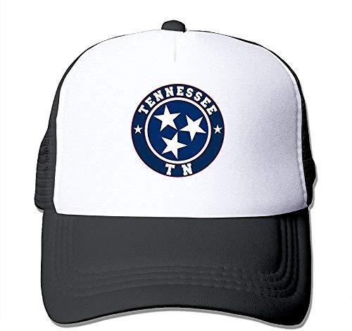Flag of Tennessee State Volunteer State TN - Gorra de béisbol ajustable