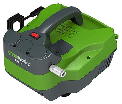 Greenworks 4101607 Luchtcompressor, zonder tank, 300 W