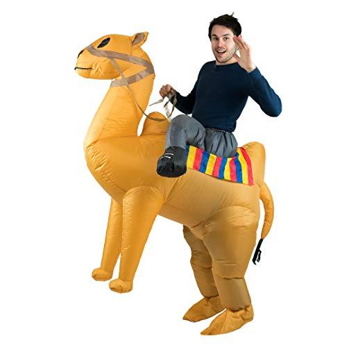 Bodysocks® Disfraz Hinchable de Camello Adulto