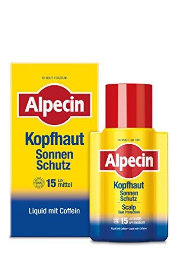 Alpecin Kopfhaut Sonnen-Schutz LSF 15 1x 100ml - Schützt vor Kopfhaut-Sonnenbrand, stärkt dabei die Haarwurzeln