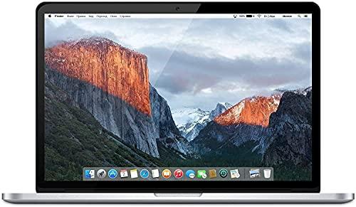 Apple MacBook Pro 15.4' (i7-4980hq 2.8ghz 16gb 512gb SSD) QWERTY U.S Teclado MJLQ2LL/A Mitad 2015 Plata (Reacondicionado)