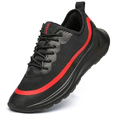 Amazon - Save 40%: Weweya Men's Walking Shoes Casual Lightweight Gym Workout Training Ru…