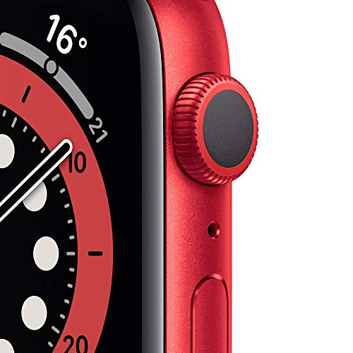 AppleWatch Series6 (GPS, 44mm) Aluminiumgehäuse Product(RED), Sportarmband Product(RED)