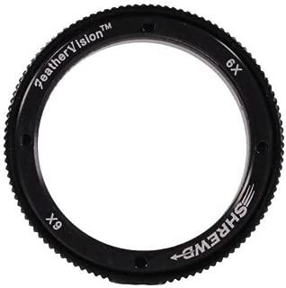 Shrewd 6X Lens with Housing Verde Vitri 29mm Mini Mag Archery Equipment, Black