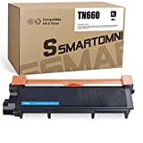 S SMARTOMNI Compatible TN660 Toner Cartridge Replacement for Brother TN 660 TN 630 for Brother MFC-L2700DW L2340DW L2300D L2380DW L2320D DCP-L2540DW L2520DW MFC-L2740DW L2720DW (1-Pack, Design V3)