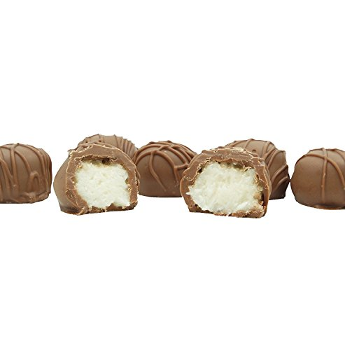 Philadelphia Candies Homemade Coconut Creams Milk Chocolate 1 Pound Gift Box