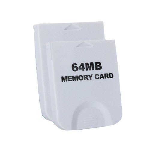 OSTENT 64 MB Cartão de Memória Compatível com Nintendo Wii Gamecube NGC Console Video Game