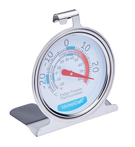 KitchenCraft Freezer / Fridge Thermometer with Min Max...