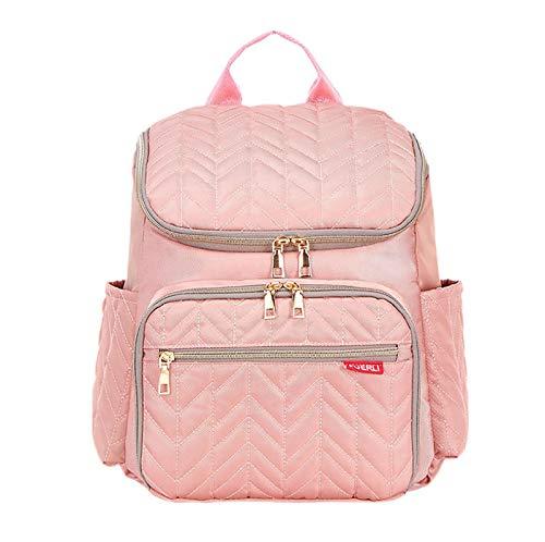 Bolsa de pañales de hilo de bordado creativo, bolsa para madre y bebé de gran capacidad, mochila para bebé con separación seca y húmeda, botella de maternidad y bolsa para madre, bolsa impermeable mul