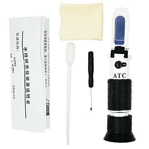 Automotriz Coche Anticongelante Refractómetro Urea Anticongelante Agua Tester