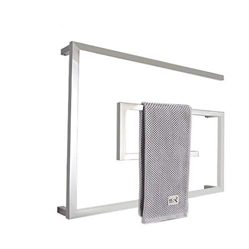 Toalla toallero calentador eléctrico montado en la pared del radiador con el...