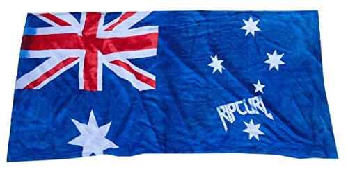 Mangeoo Rip Curl bandera australiana distintivo