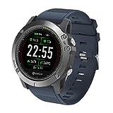 Zeblaze Bluetooth Reloj Inteligente con Pulsómetro Pulsera Deportiva, 3D Deportivo Brazalete Reloj