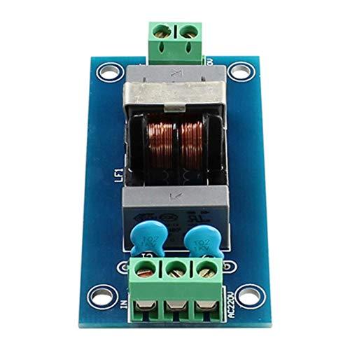 Ogquaton Fuente de alimentación Placa de filtrado Filtro emi 3A para módulo Amplificador DAC Sensor Salida de Filtro de Herramienta de Sonido