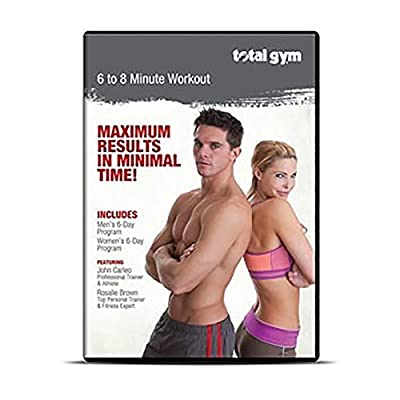 Total Gym 6-8 Minute Workout DVD