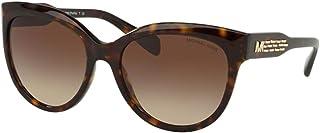 Michael Kors MK2083 300613 Dark Tort Portillo Round Sunglasses Lens Category 3, 57mm