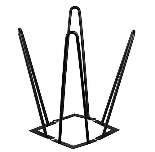 Yaheetech 591586 4X Tischbein Tischgestell Möbelbein Haarnadelbeine Tischzubehör DIY 41cm, für Esstisch Couchtisch Schreibtisch