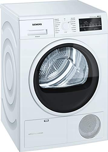 Siemens iQ500 WT45W4A2 Wärmepumpentrockner / A++ / 236 kWh / 8,00 kg / selbstreinigender Kondensator / Outdoor Programm / 40 Minuten Schnelltrockenprogramm