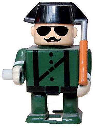 Guardia Civil de plastico con gafas y bigote