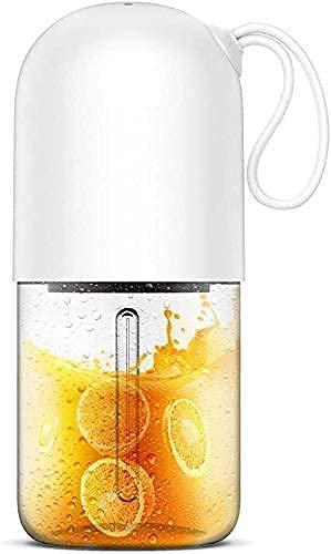 HYLK Taza de agua Exprimidor eléctrico Juicer Licuadora portátil Juicer Cup/Mezclador eléctrico El Juicer diseñado como una cápsula para batido de frutas y alimentos para bebés 300 ml