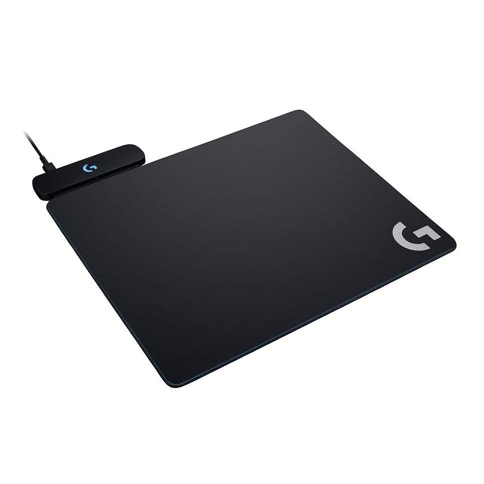 パブ希少性保証するLogicool ロジクール ゲーミング マウスパッド  G-PMP-001 ブラック POWERPLAYワイヤレス充電 クロスとハードマウスパット両方同梱 G502WL/G703d/G903/G-PPD-002WL対応 国内正規品 2年間メーカー保証
