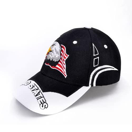 Gorra de béisbol de águila calva Gorra casual Gorra de béisbol táctica de camuflaje con logotipo americano