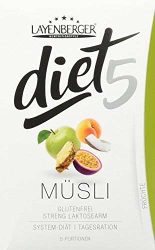Layenberger diet5 Müsli Früchte, 5 Stück