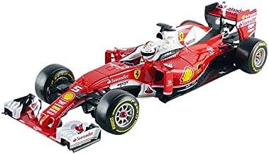 Bburago–9862–Ferrari F1sf16-h 2016–Vettel–Special Edition–Escala 1/18–Rojo
