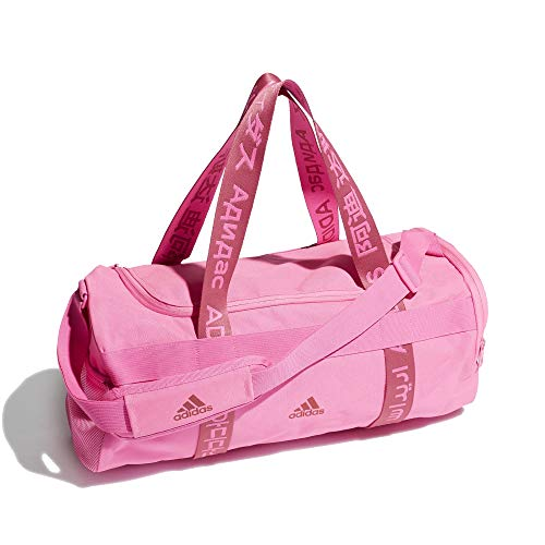 Adidas 4ATHLTS Duffel Bag - Bolsa de deporte (tamaño pequeño), color rosa