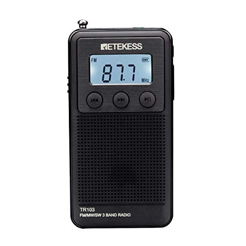 radio transistor pequeño fabricante Retekess