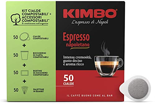 3 x 50 Kaffeepads Kimbo Espresso Napoletano Kaffee Coffee einzelnen Paketen pads