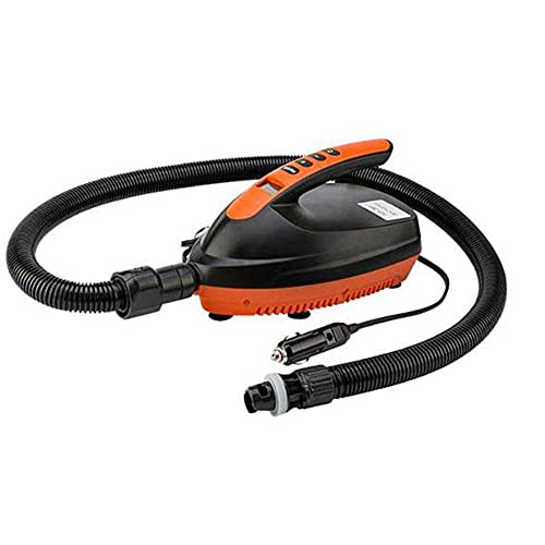N C Bomba de Aire eléctrica SOP Surfboard, inflado de Tabla de Surf eléctrica, Voltaje portátil de 12V 16/20 PSI Presión máxima de Alta presión de Alta presión, para colchones
