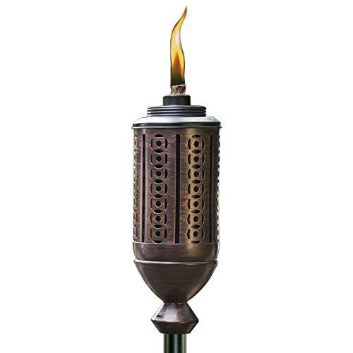 TIKI Brand 65-Inch Cabos Metal Torch, Bronze
