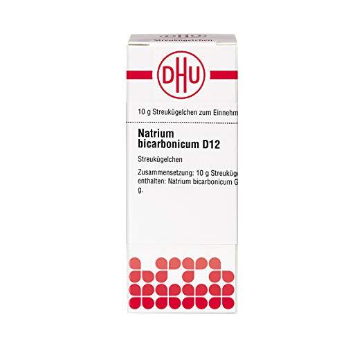 DHU Natrium bicarbonicum D12 Globuli, 10 g Globuli