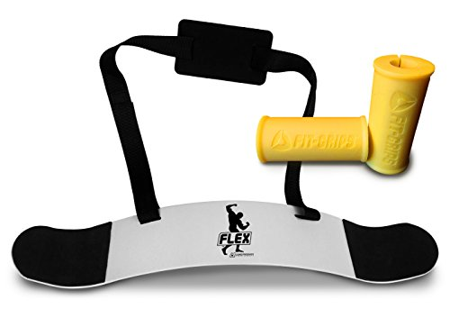 Core Prodigy Flex Arm Blaster and Fit Grips Yellow
