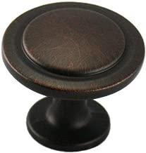 Cosmas 5560ORB Oil Rubbed Bronze Cabinet Hardware Round Knob - 1-1/4