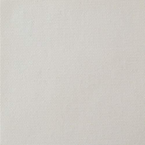 TESSILMARE Tessuto Poliestere Monospalmato per Teli da Esterno di Piccole Medie Dimensioni Trattamento Impermeabile Protezione UV Made in Italy Rotolo da 10 m Altezza 1.80 m Bianco