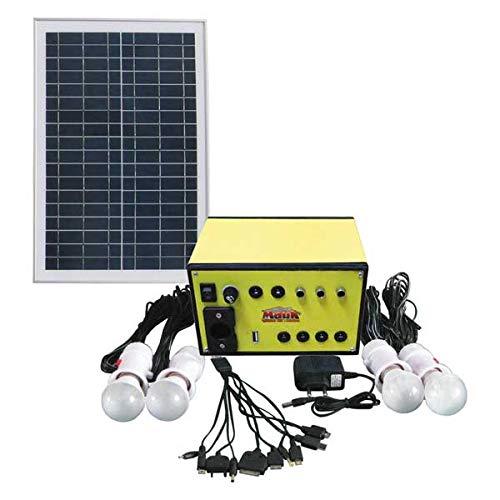 Mauk Solarset 15 W 12 V 7 Ah Solarmodul Beleuchtung für Wohnwagen,...