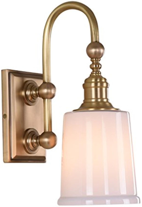 Kupfer SpiegelleuchtenWandleuchtenEuropische Retro Für Nachttischlampe Vanity Mirror Bad E27