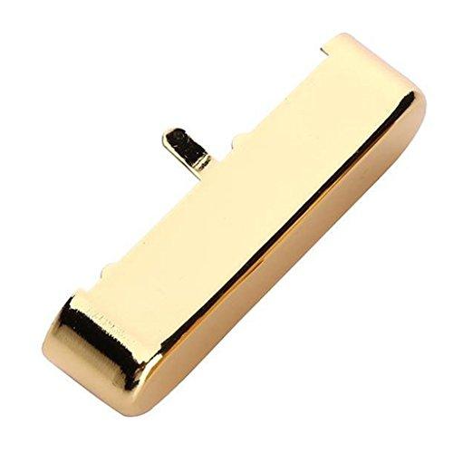 Tapa para Pickup de Cuello Hecho de Latón Accesorios para TL Tele Telecaster Guitarra Eléctrica - Oro