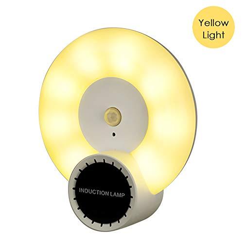 Lixada aromatherapie bewegingssensor wandlamp LED nachtlicht menselijk lichaam inductie lamp voor slaapkamer gang gang trap kledingkast kast kast kast