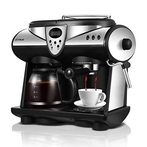 puissant GLEI-TK Machine à café multifonction entièrement automatique Machine à café en acier inoxydable,…
