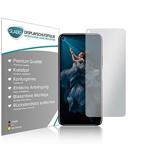 Slabo 4 x Bildschirmschutzfolie für Huawei Honor 20 | Honor 20 Pro | Nova 5T Bildschirmfolie Schutzfolie Folie Zubehör No Reflexion MATT