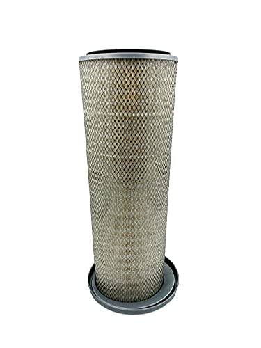 TORQUE Engine Air Filter for Mack, Freightliner and Peterbilt Trucks (Replaces AC-DELCO A1140C, BALDWIN PA2680, FLEETGUARD AF1969, LUBER-FINER LAF695, VOLVO 1110903) (TR507-EF)