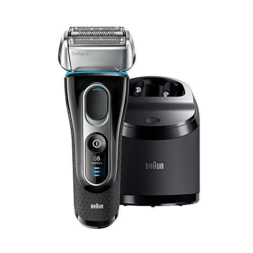 BRAUN ブラウン シリーズ5シェーバー 3枚刃洗浄器付き電動髭剃り 5197cc P&G