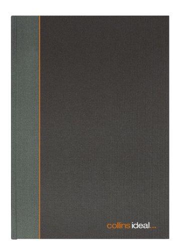 Collins Ideal - Cuaderno para contabilidad (tamaño A5, 192 páginas, con columnas), color gris