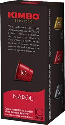 Kimbo 4 Schachteln Espresso Napoli Nespresso Kapseln