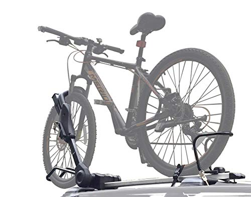 ZKORN Soporte para Bicicletas, Aluminio Portabicicletas de Techo Coche Coche Bicicleta de...