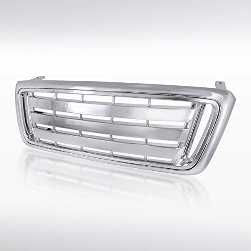 Autozensation for 2004-2008 Ford F-150 Pickup Truck Chrome Billet Style Front...