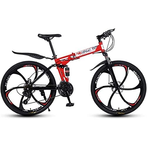 mountain bike pieghevole 26 QCLU Bici da 26 Pollici Mountain Bike